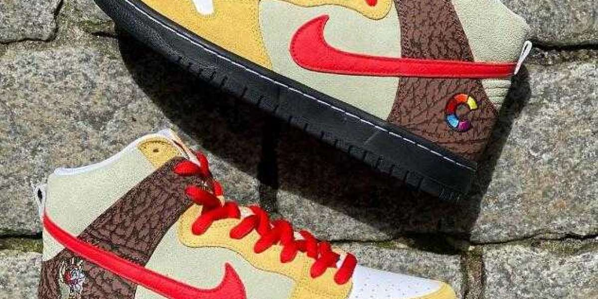 "Color Skates x Nike SB Dunk High ""Kebab and Destroy"" Set to Drop Soon"