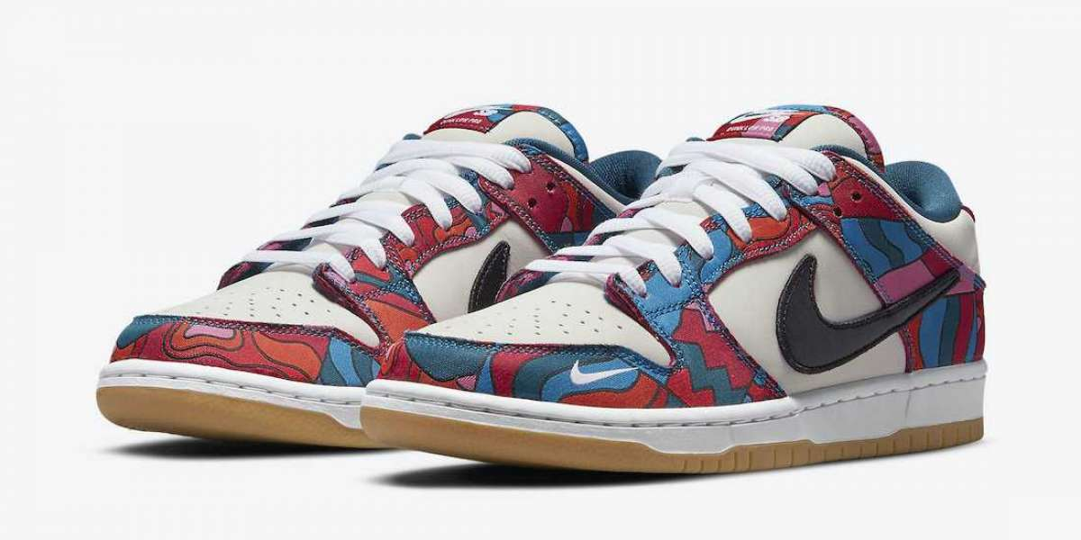 Most Popular 2021 Parra x Nike SB Dunk Low For Sale