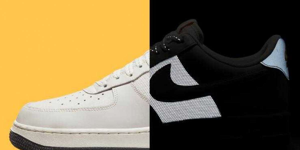 New Drop Nike Air Force 1 Low Debut With Reflective Mid-Foot Panels