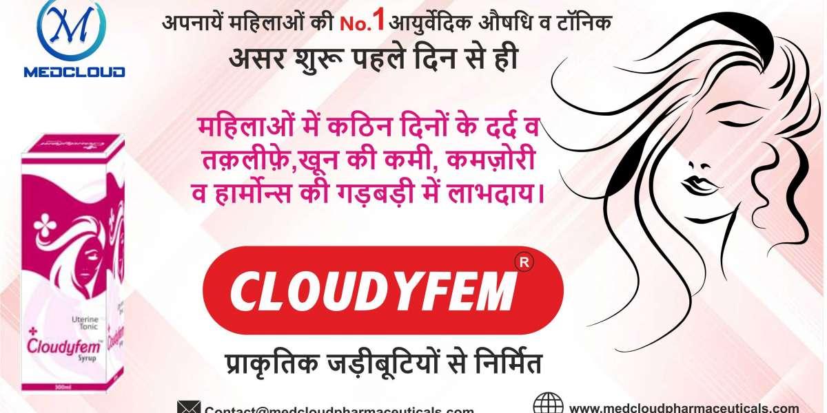 Best women's tonic( cloudyfem ) in Noida—Medcloud Pharma