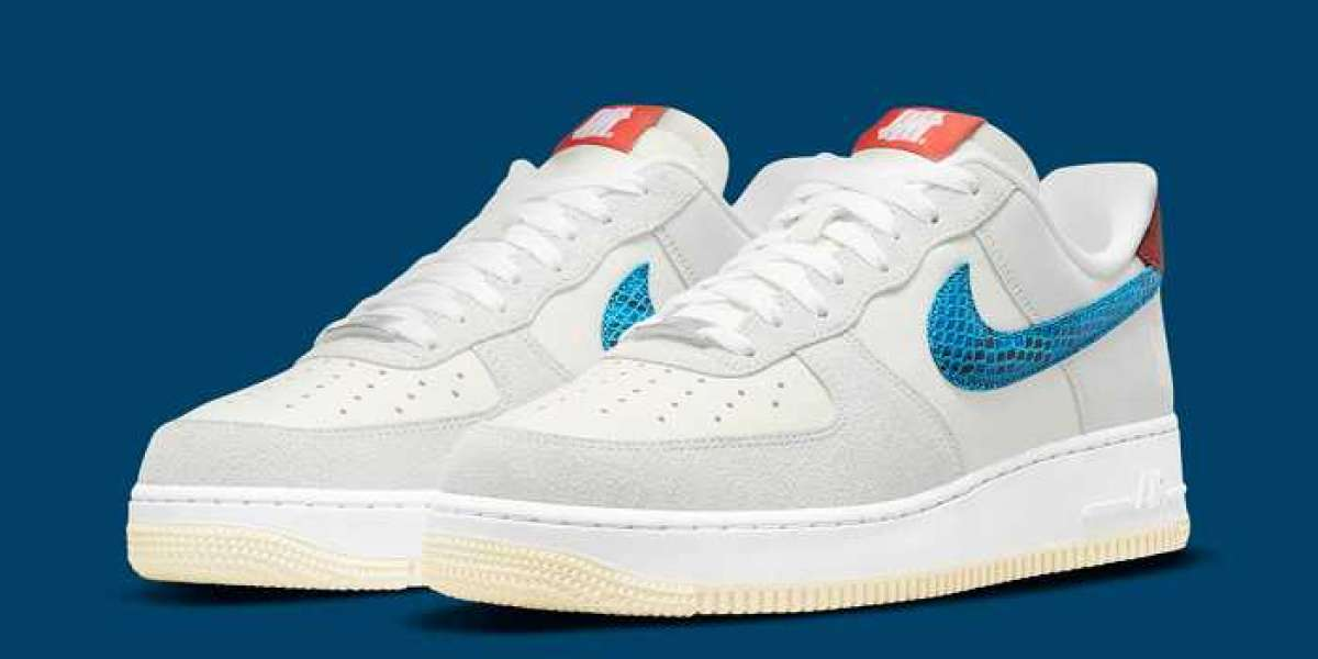 """Hot Sale Undefeated X Nike Air Force 1 Low """"5 On It"""" DM8461-001"""